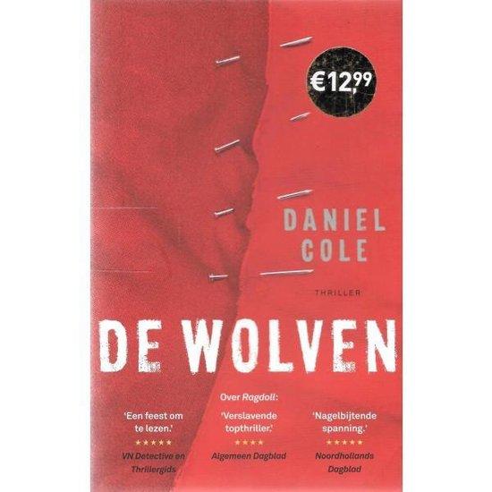 Boek cover Ragdoll 3 -   De wolven van Daniel Cole (Paperback)