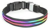 Hilox Lighting LED Halsband -  Multicolor - 35-40cm PX1 Hilox - Oplaadbaar