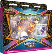 Pokémon Shining Fates Mad Party Pin Box - Galarian Mr.Rime - Pokémon Kaarten