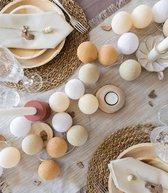 Cotton Ball Lights Regular Lichtslinger beige - Creamy 20