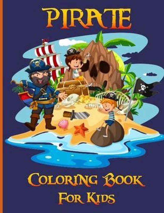 Pirate Coloring Book for Kids