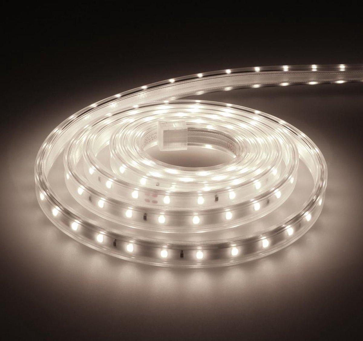 Dimbare LED Strip 2m 6000K 60 LEDs/m IP65 Plug & Play - Flex60 Series