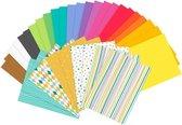 Gekleurd Knutselpapier (34 vellen)
