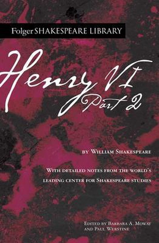 Boek cover Henry VI Part 2 van William Shakespeare (Paperback)