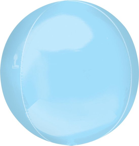 Amscan Folieballon Orbz 53 Cm Lichtblauw