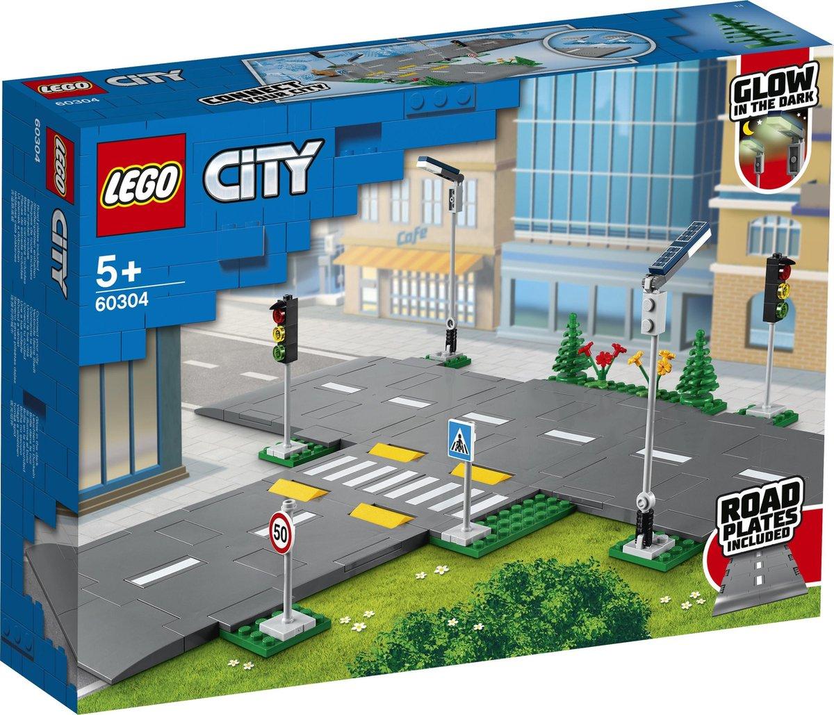 LEGO City Wegplaten - 60304