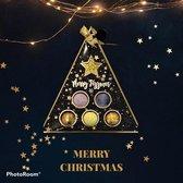 Badbruisballen Christmas/Kerst Set van 6 stuks - Badballen - Bruisballen voor in Bad - Etherische Aroma Badbommen - Aromatherapie Bathbomb - kerstcadeau - kerst giftset topcadeaus
