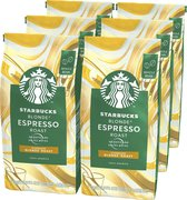 Starbucks Blonde Espresso Roast koffie - koffiebonen - 6 zakken à 200 gram