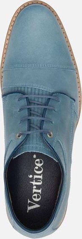 Vertice Veterschoenen blauw - Maat 41