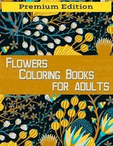 Flowers Coloring Books for Adults