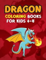 Dragon Coloring Books For Kids 4-8