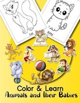 Color & Learn Animals and Their Babies