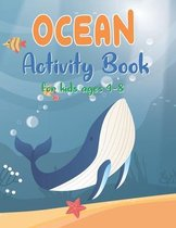 OCEAN Activity Book for kids ages 4-8