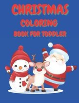 Christmas Coloring Book for Toddler