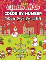 Christmas Color By Number Coloring Book For Adults