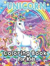 Unicorn Coloring Book For Kids Ages: 4-8