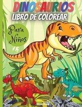 Dinosaurios Libro De Colorear Para Ninos