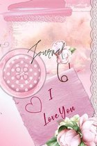 Journal for Women For Girls For Moms 122 pages 6x9 Inches