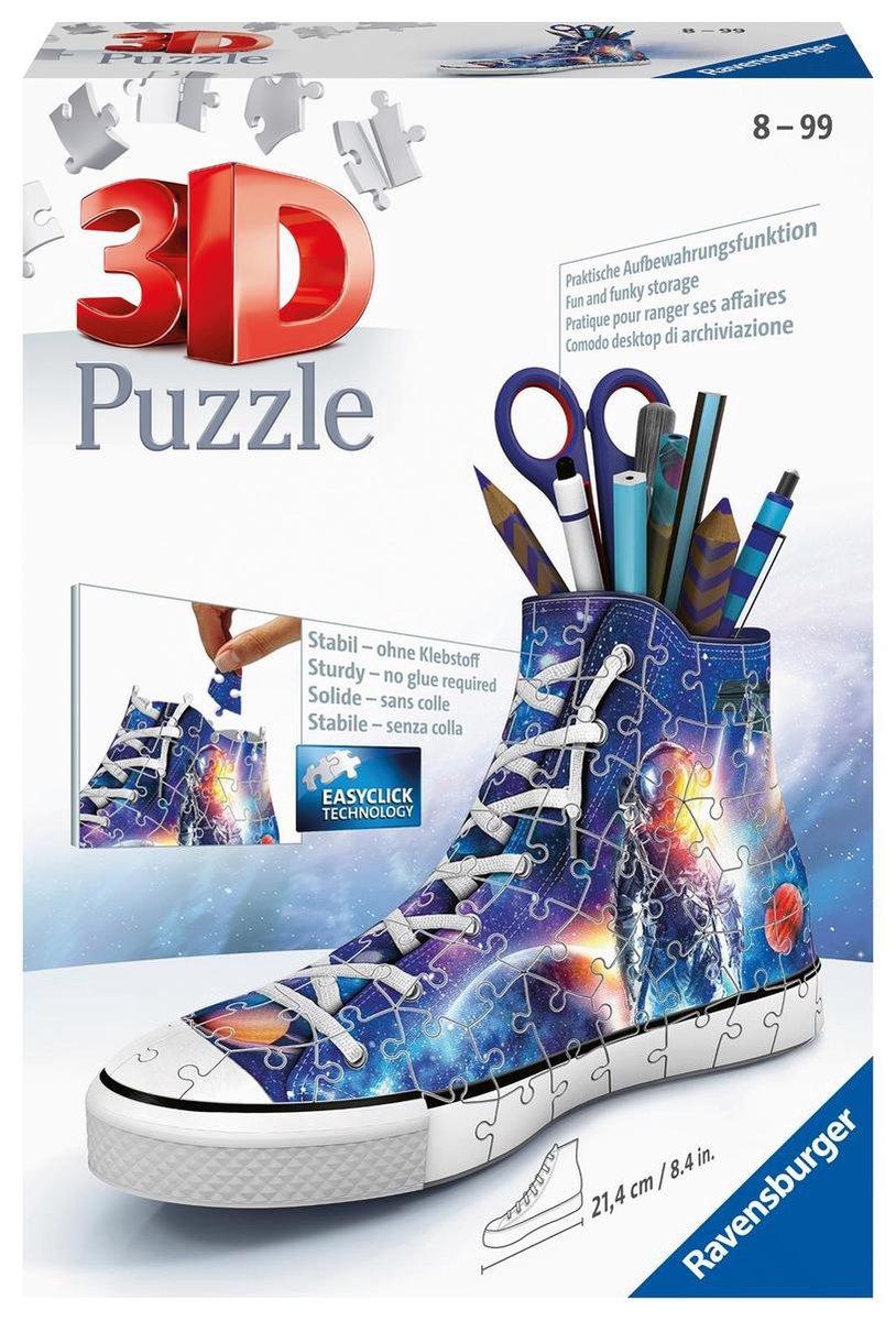 Ravensburger Sneaker Astronauts / Galaxy - 3D puzzel - 108 stukjes