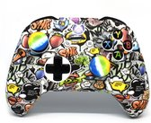 Xbox One Controller Skin | Controller hoesje + Thump grips | Graffiti