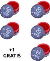 Red One Quicksilver 4 + 1 GRATIS | Aqua haar gel wax | Red One Wax | Red One Gel | Grijs