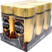 Nescafé Gold oploskoffie - 6 potten à 200 gram