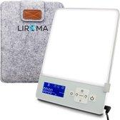 LIROMA®  Daglichtlamp - 10.000 lux - Timer - Blauw en Wit licht – Lichttherapielamp - Energielamp - Lichttherapie - Hobby