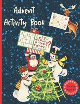 Advent Activity Book For Kids Ages 4-8