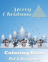 Christmas Coloring Book With Dot & Box Games