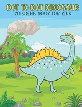 Dot To Dot Dinosaur Coloring Book For Kids