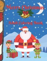 Merry Christmas: Adult Coloring Book