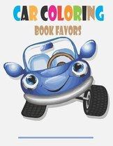 Car Coloring Book Favors