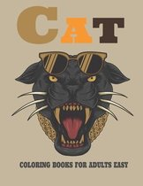 Cat Coloring Books for Adults Easy