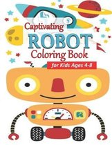 Captivating Robot Coloring Book for Kids