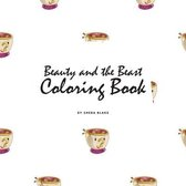 Beauty and the Beast Coloring Book for Children (8.5x8.5 Coloring Book / Activity Book)