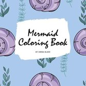 Mermaid Coloring Book for Children (8.5x8.5 Coloring Book / Activity Book)