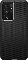 Spigen Liquid Air Samsung Galaxy S21 Ultra Hoesje Zwart