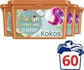 Robijn Kokos 3 in 1 Wascapsules - 4 x 15 wasbeurten - Voordeelverpakking
