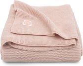 Jollein Deken Basic knit 100x150cm Pale pink