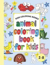 Kids Coloring Books Animal Coloring Book For Kids