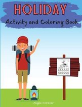 Holiday Activity and Coloring Book