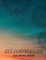 101 MANDALAS Coloring Book