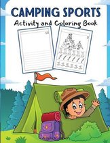 Camping Sports Activity and Coloring Book