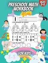 Preschool Math Workbook For Kids
