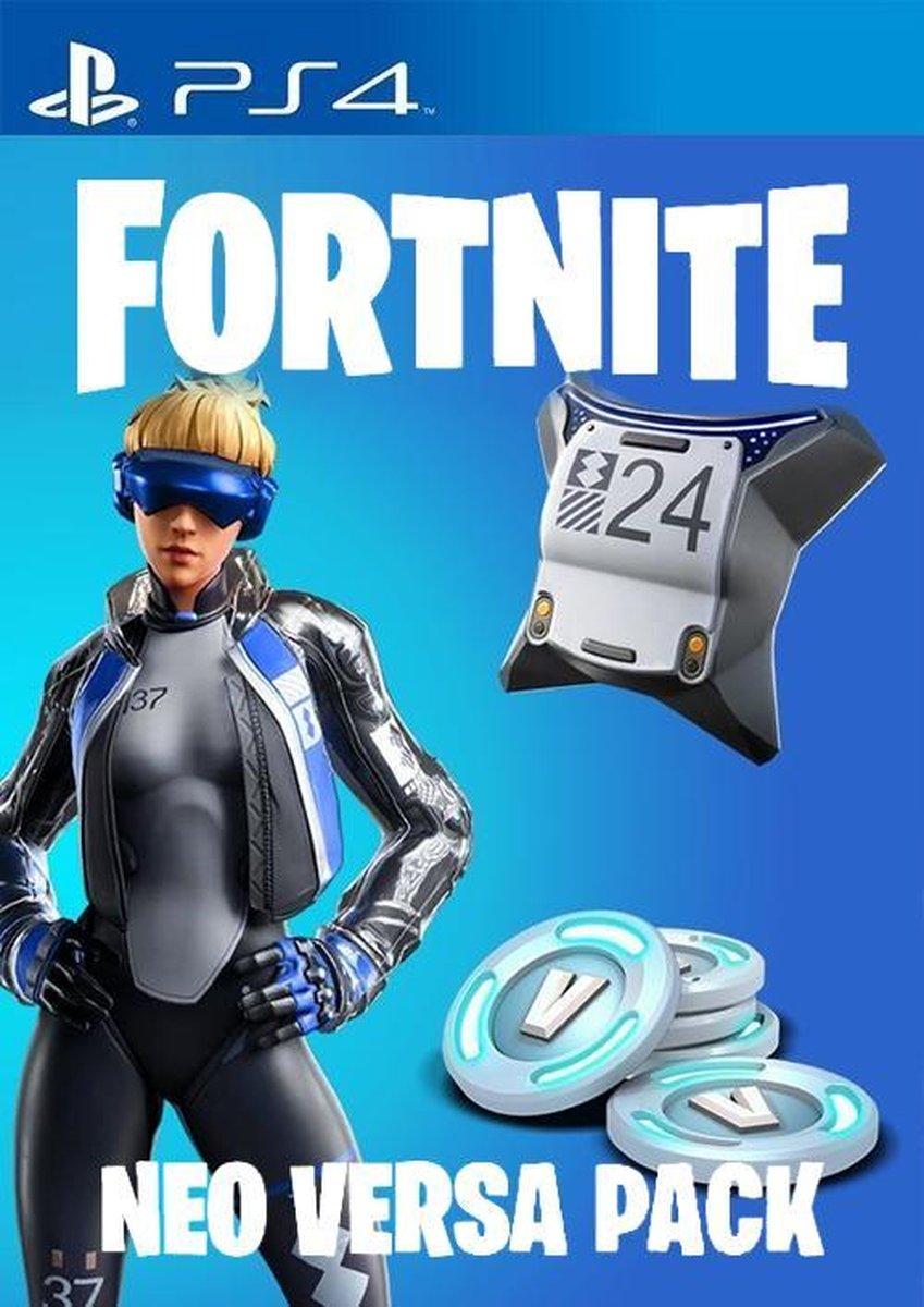 Neo Versa Fortnite Bundle 500 V-Bucks - Playstation 4 - Fortnite Bundle - Digitale Code - Fortnite P