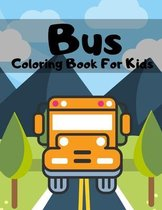 Bus Coloring Book For Kids