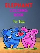 Elephant Coloring Book For Kids
