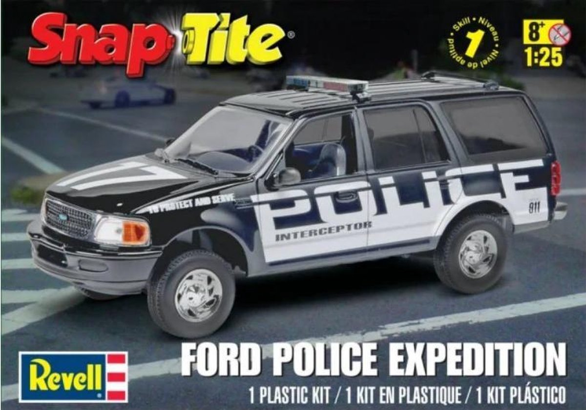 Revell Ford Expedition Police SSV (modelbouw, 1:25)
