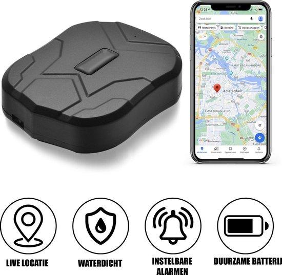 Auto volgsysteem GPS Tracker - Magneet - Gratis App - Krachtige accu