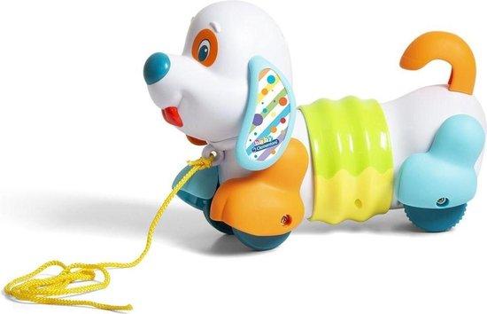 Trekfiguur Hond Charlie Clementoni
